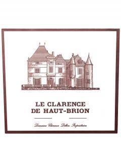 Le Clarence de Haut-Brion 2010 Caisse bois d'origine de 12 bouteilles (12x75cl)