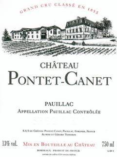 Château Pontet-Canet 2010 Caisse bois d'origine de 12 bouteilles (12x75cl)