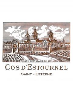 Château Cos d'Estournel 2012 Caisse bois d'origine de 12 bouteilles (12x75cl)