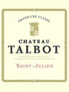 Château Talbot 2000 Caisse bois d'origine de 12 bouteilles (12x75cl)