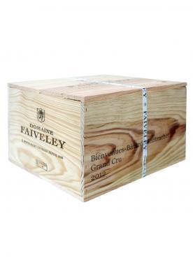 Bienvenues Bâtard-Montrachet Grand Cru Domaine Faiveley 2012 Caisse bois d'origine de 6 bouteilles (6x75cl)