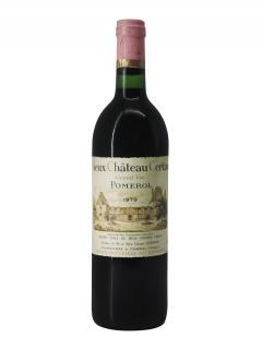 Vieux Château Certan 1979 Caisse bois d'origine de 12 bouteilles (12x75cl)